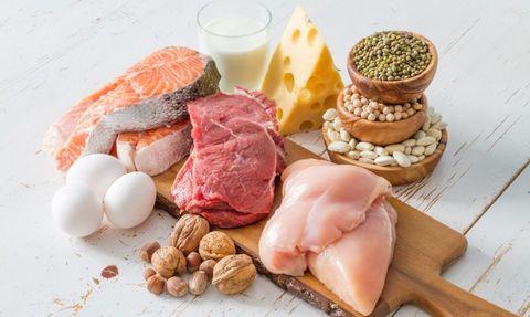 eiwitten, slapen, herstel, bedtijd, spieren