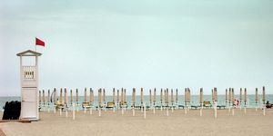 Poetto Beach. Cagliari. Sardinia. Italy