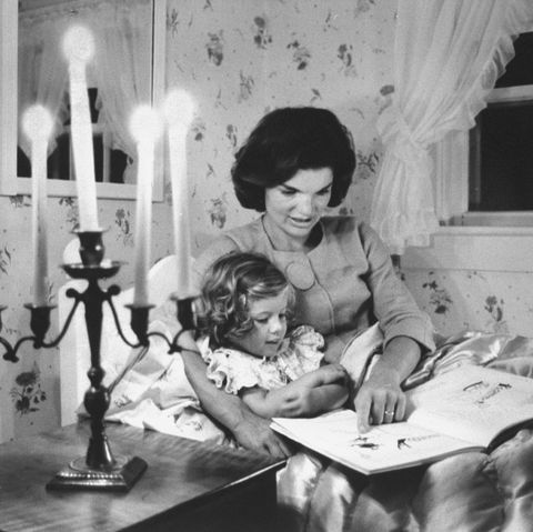 jackie kennedy at home