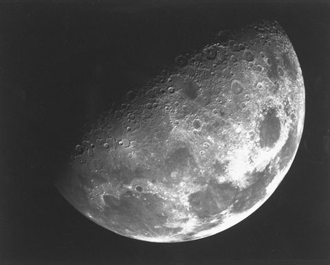 scientists find direct evidence of water ice on the lunar surface