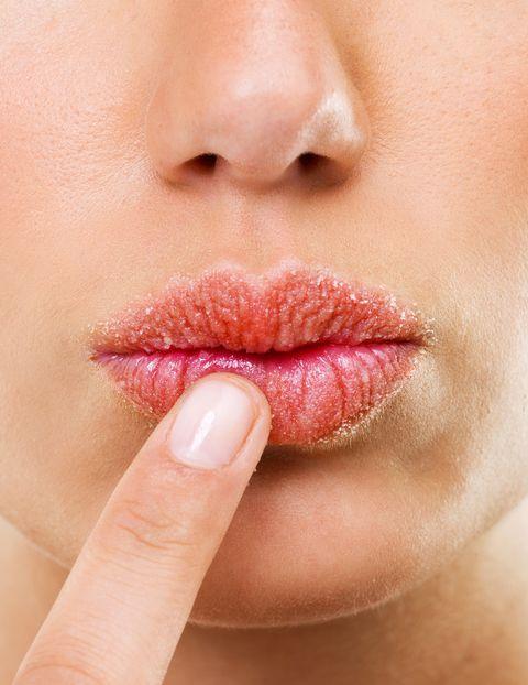 Lip, Face, Skin, Cheek, Nose, Close-up, Chin, Mouth, Beauty, Pink,
