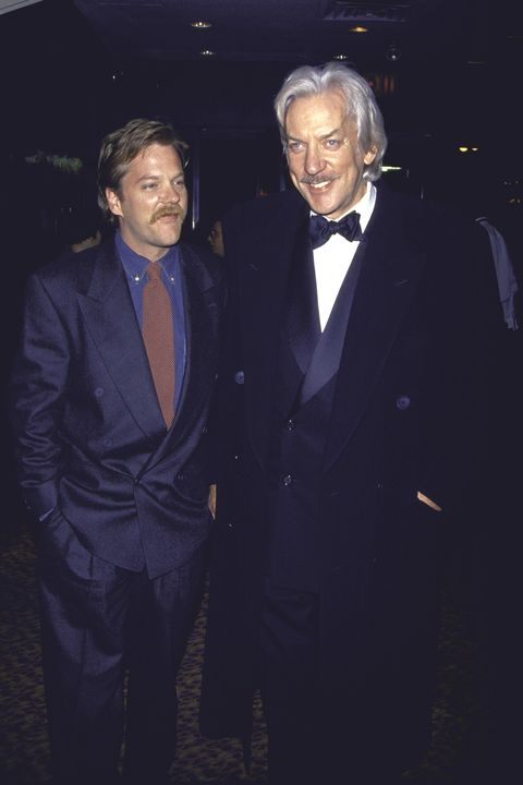 Donald Sutherland [& Family];Kiefer Sutherland