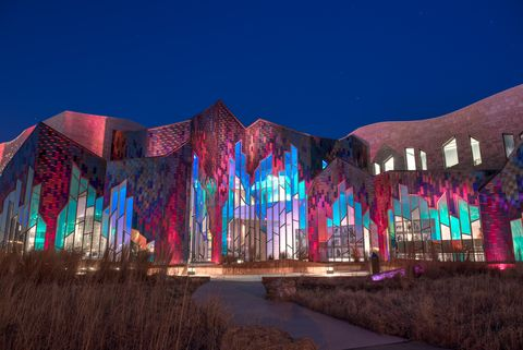 Landmark, Light, Architecture, Lighting, Tourist attraction, Facade, Night, Building, World, City,