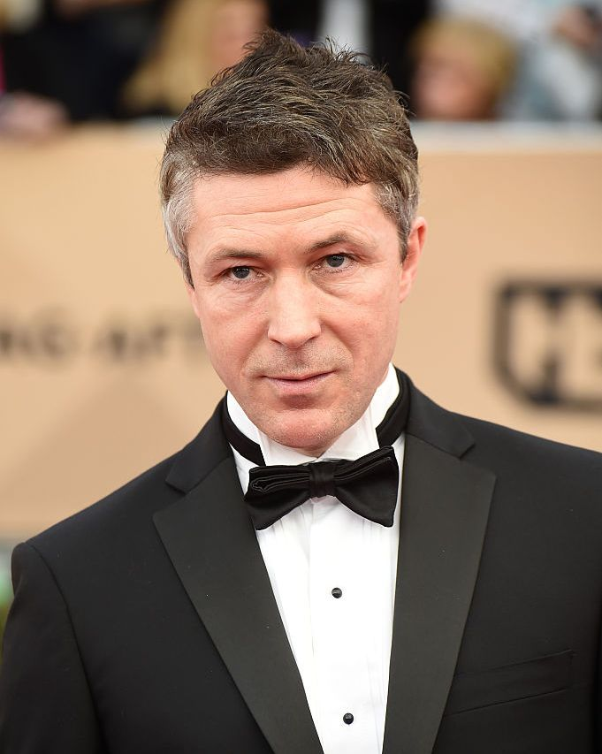 Aidan Gillen (without beard) The goatee look works for almost no one, and we like clean shaven Gillen much better.