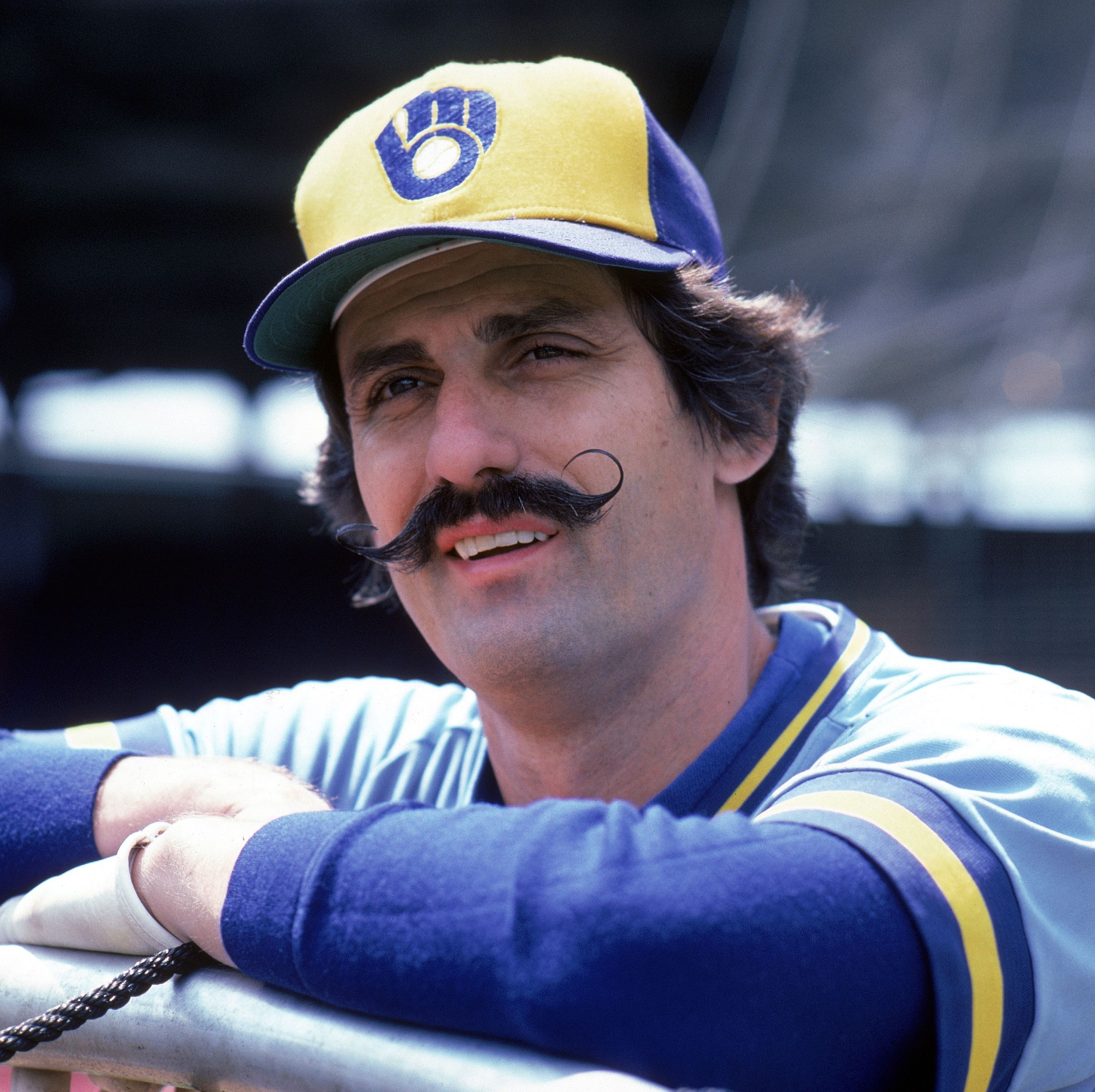1982: Rollie Fingers Even though Fingers was a legendary baseball pitcher, he was equally known for his performance on the field as his signature handlebar mustache.