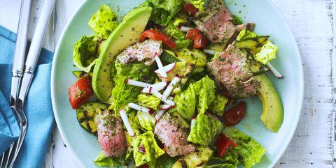 Dish, Food, Cuisine, Salad, Ingredient, Cruciferous vegetables, Vegetable, Meat, Vegetarian food, Leaf vegetable,