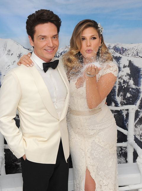 west hollywood, ca   february 04  richard marx and daisy fuentes attend a martin katz designed event celebrating their wedding in the hotels penthouse inspired by vivienne westwood at the london hotel on february 4, 2016 in west hollywood, california  photo by angela weissgetty images for the london hotel