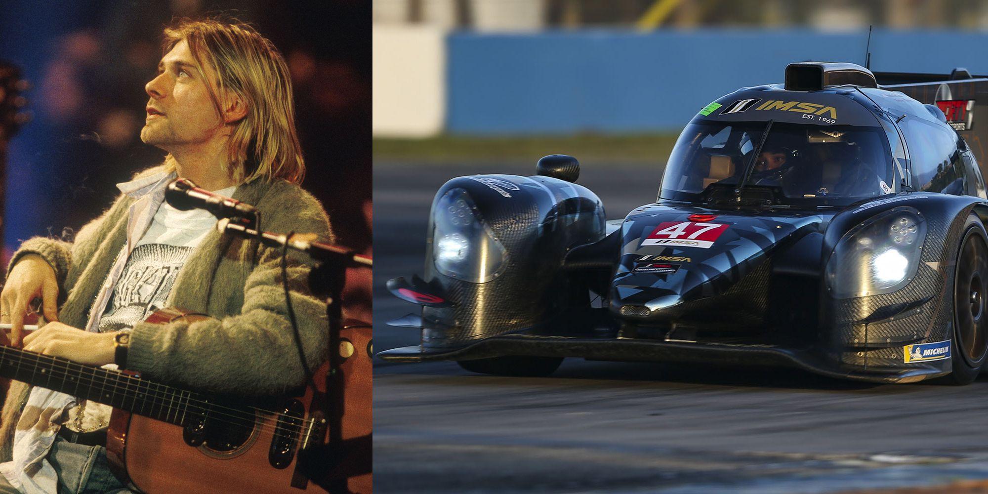 "IMSA Race Team Owner Also Owns Kurt Cobain's MTV ""Unplugged"" Cardigan"