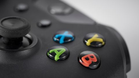 Joystick, Gadget, Input device, Game controller, Electronic device, Technology, Peripheral, Games, Video game console,