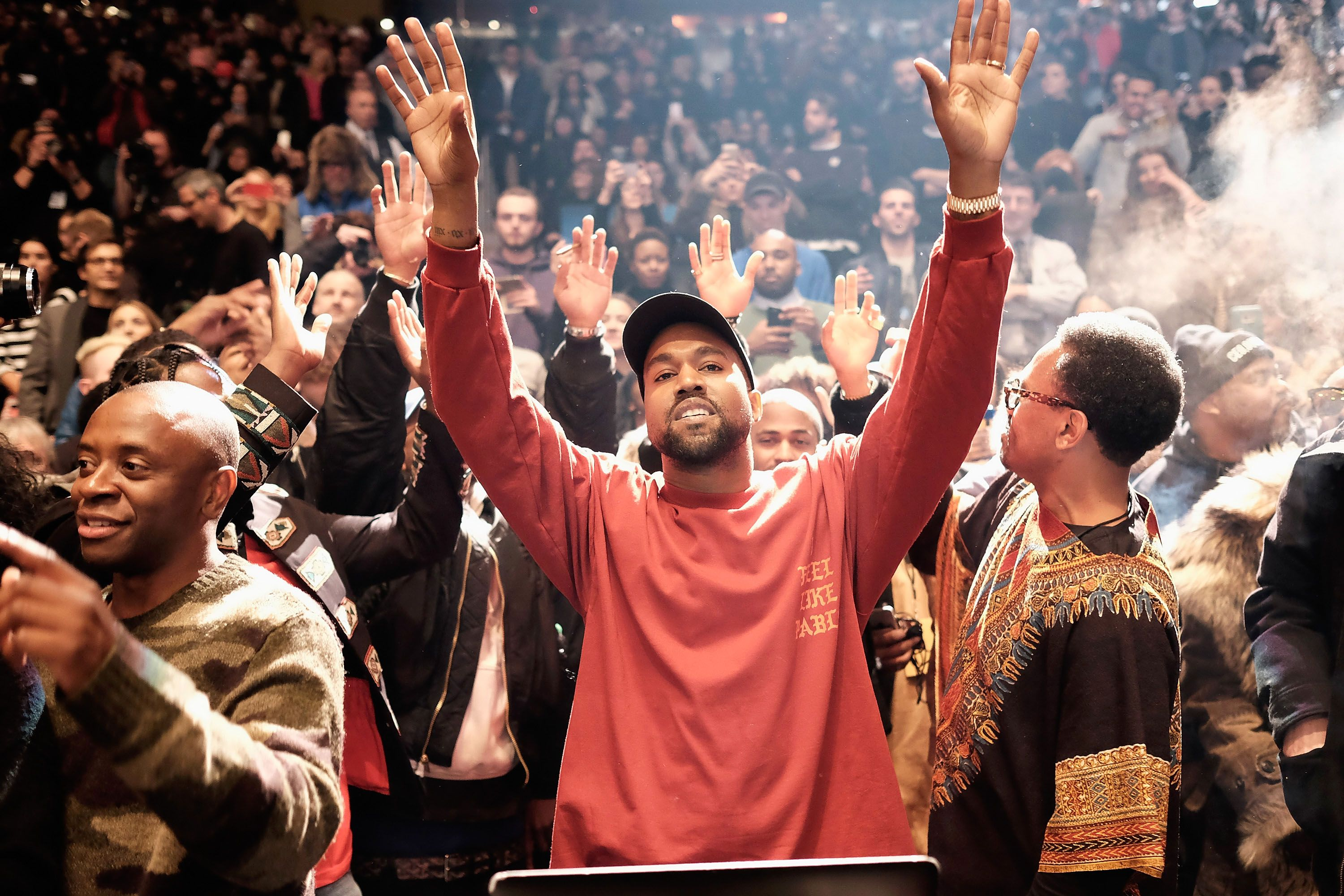 Image result for kanye west sunday service