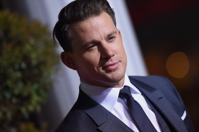 channing tatum's brings the sparkle in magical princess outfit