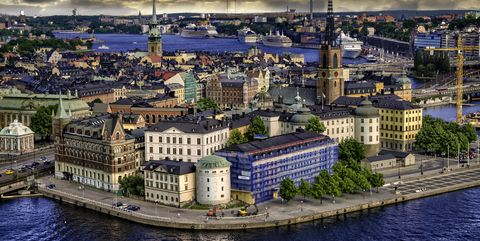Cityscape, Aerial photography, Sky, Urban area, Water, City, Metropolitan area, Human settlement, Cloud, Town,