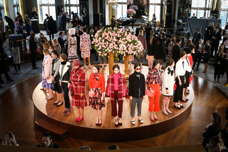 The stunning Fashion Week presentations.