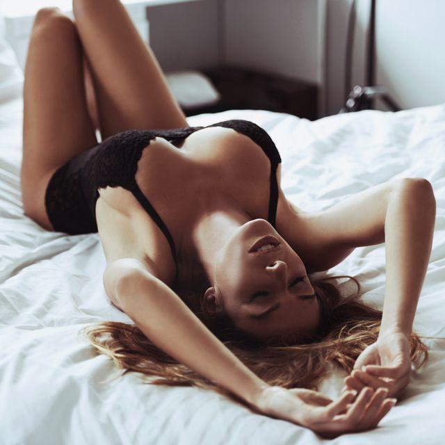 Beauty, Leg, Model, Photography, Photo shoot, Lingerie, Bed, Human leg, Long hair, Furniture,