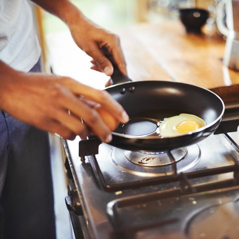 cropped shot of a man making fried eggs for breakfasthttp19515417881dataicollagepushoots806370jpg