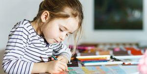 Tekening kinderboek kunst