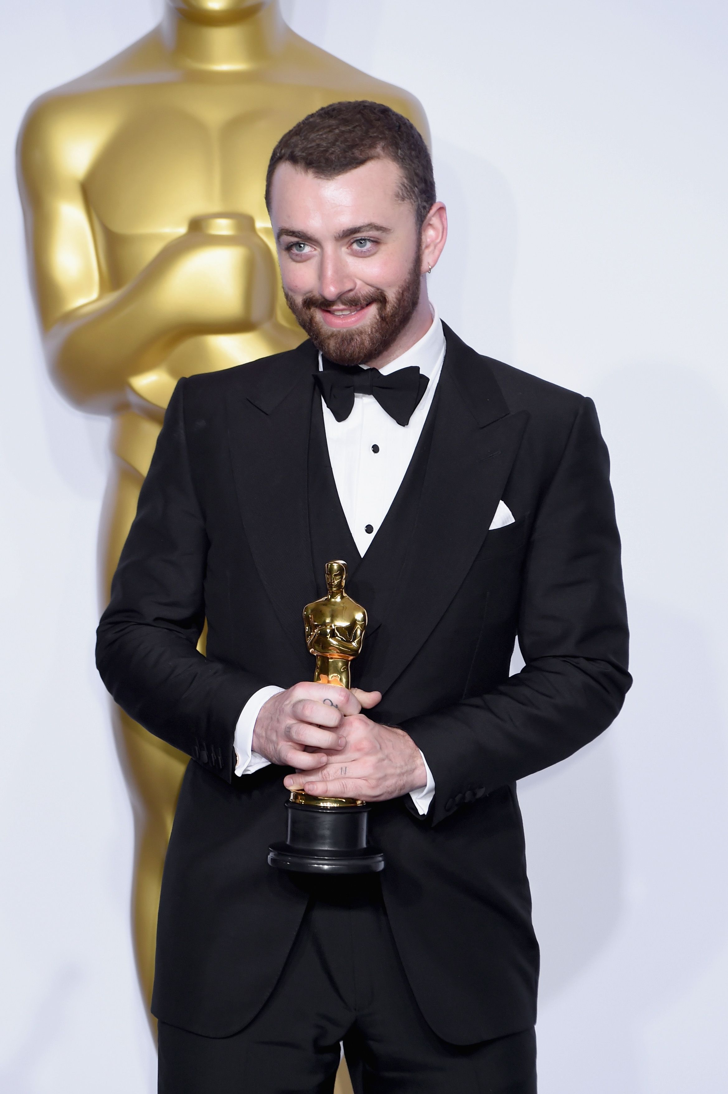 2016: When Sam Smith thought he was the first gay man to win an Oscar. During his acceptance speech, Smith hinted that he might have been the first openly gay man to receive an Oscar—but he was wrong.