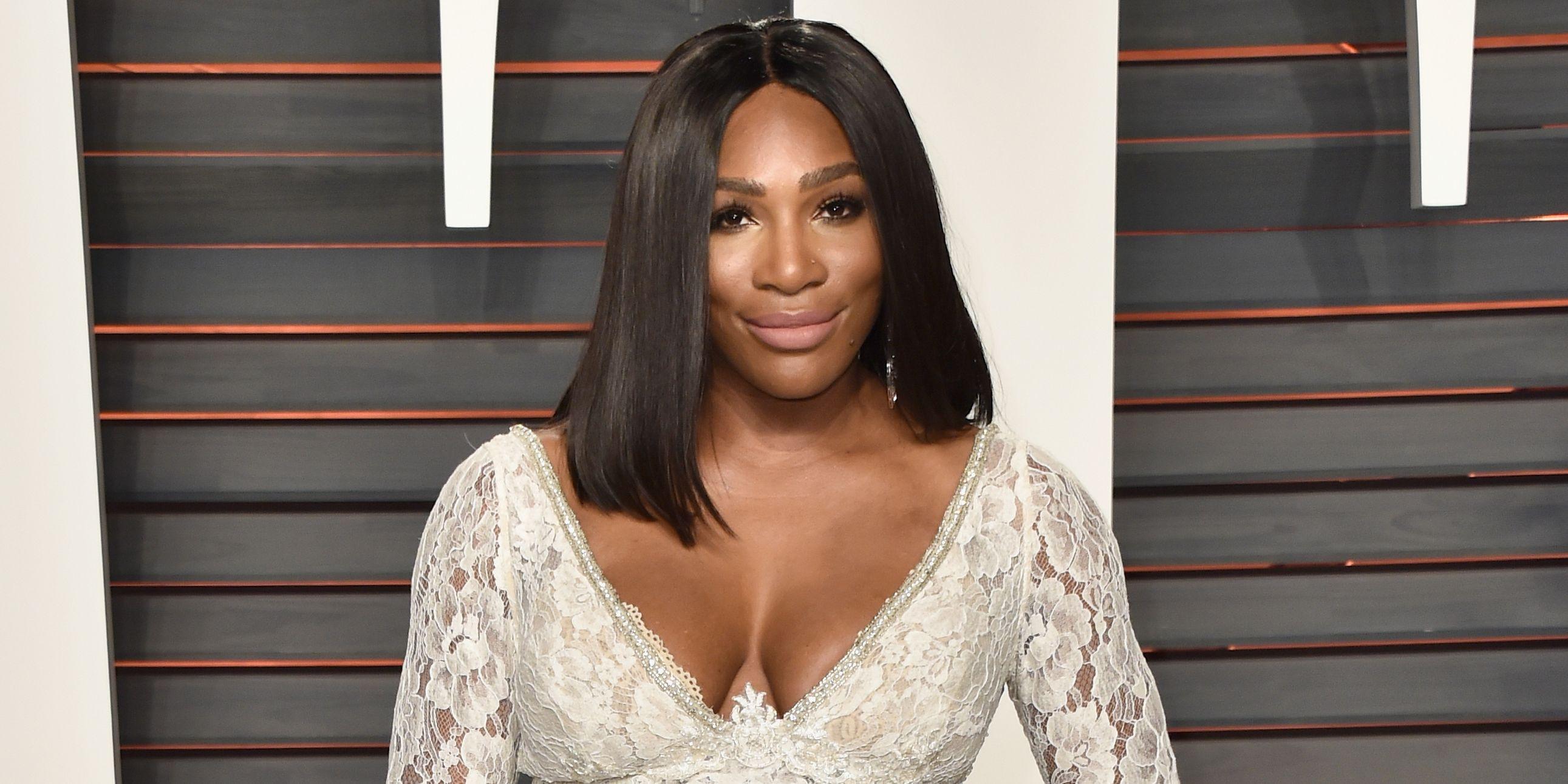 2016 Vanity Fair Oscar Party - Serena Williams