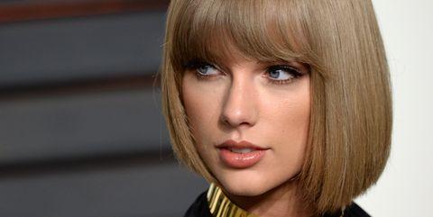 Hair, Face, Hairstyle, Blond, Bob cut, Chin, Bangs, Beauty, Eyebrow, Lip,