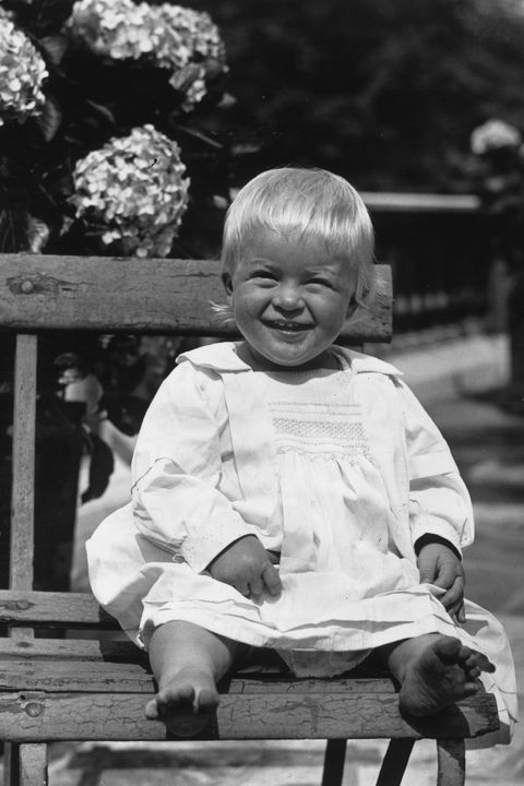 prince philip of greece, later duke of edinburgh, as a toddler, july 1922 photo by hulton archivegetty images