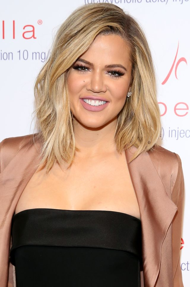 new york, ny   march 03  khloe kardashian attends allergan kybella event at iac building on march 3, 2016 in new york city  photo by cindy ordgetty images for allergan