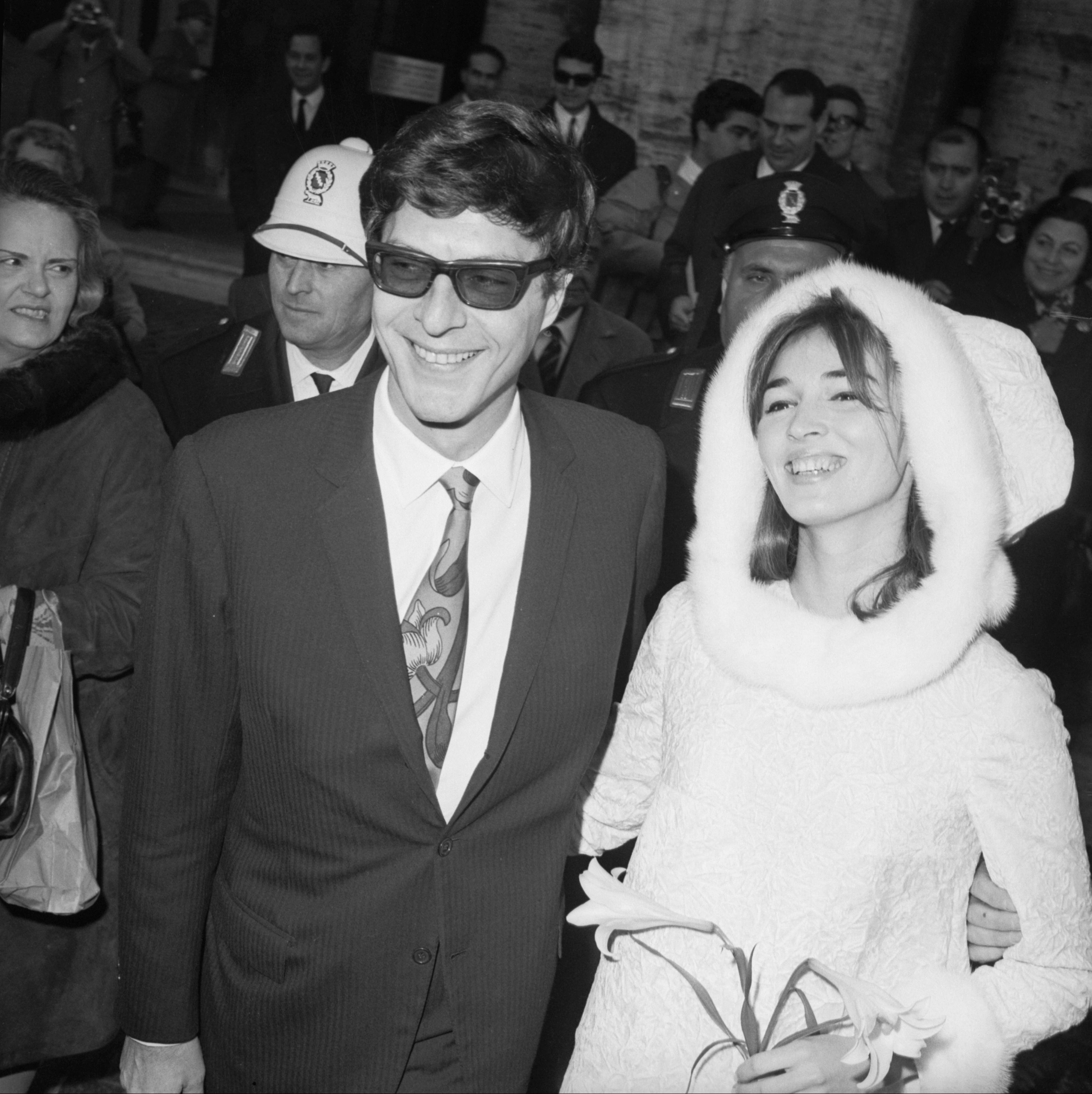 Talitha Pol's Wedding Dress Talitha Pol, an actress and dancer, was married to John Paul Getty Jr. from 1966 until her death in 1971. His father, Jean Paul Getty, founded the Getty Oil company and was in the '50s, one of the richest Americans.