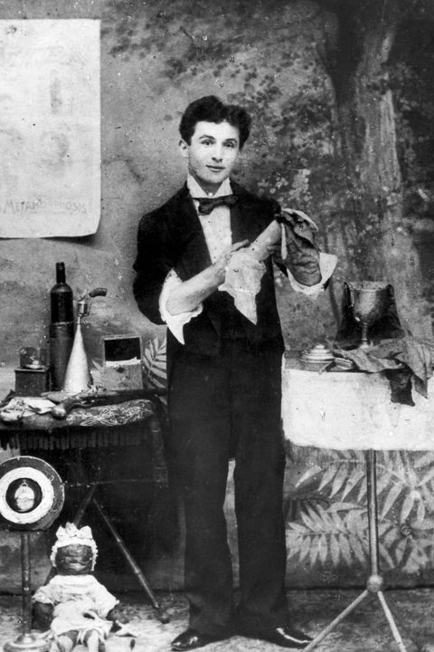 Photograph Of Harry Houdini