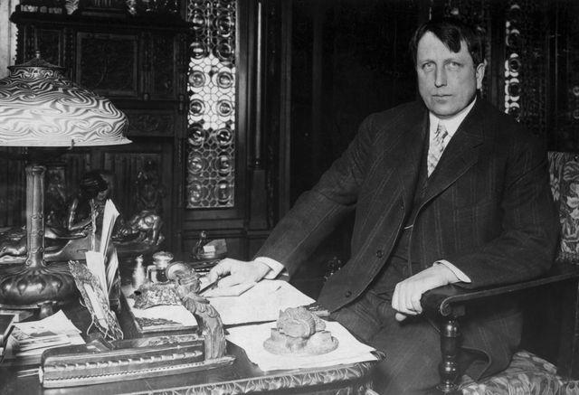 original caption william randolph hearst 1863 1951newspaper tycoon photograph