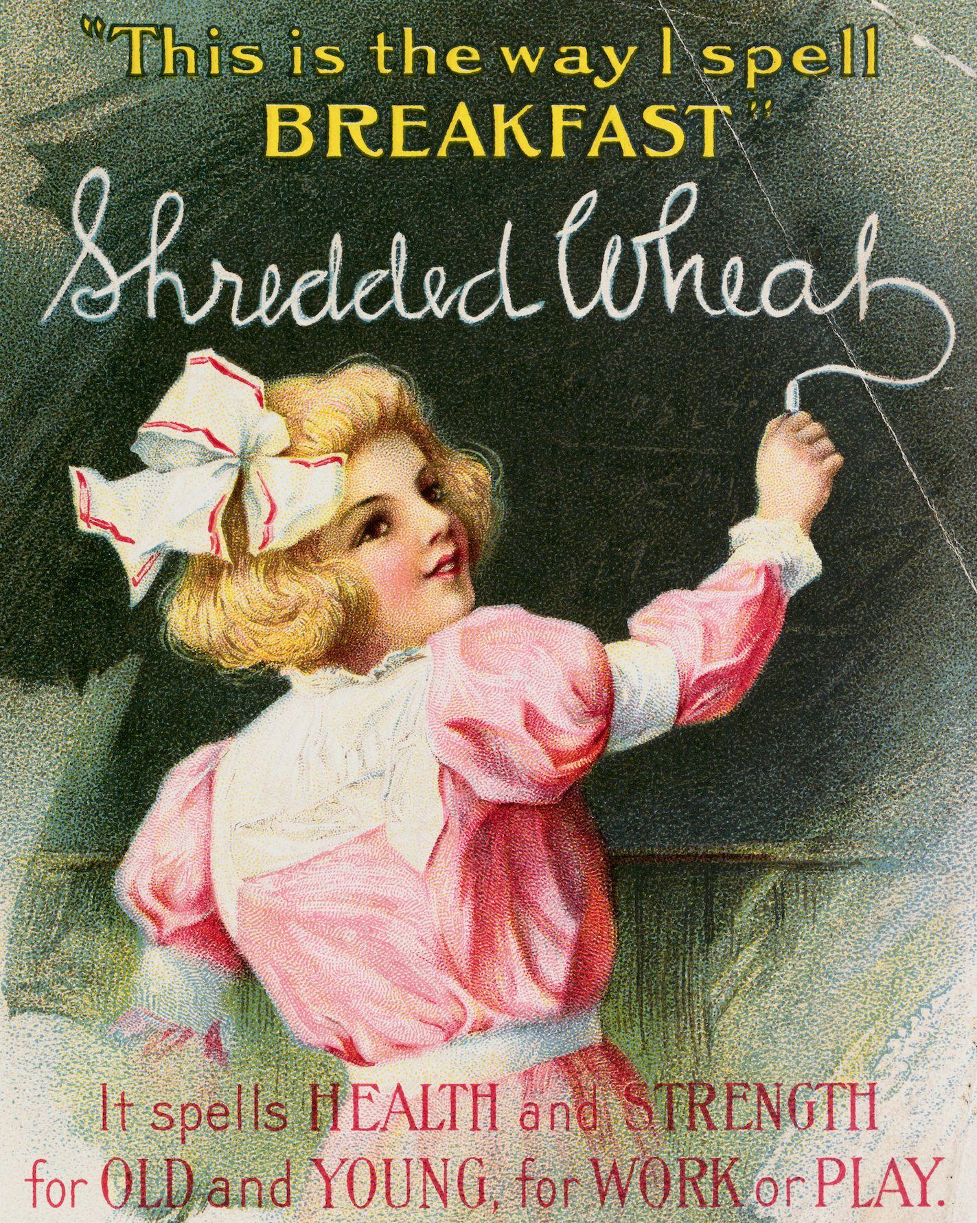 Advertisement for Shredded Wheat