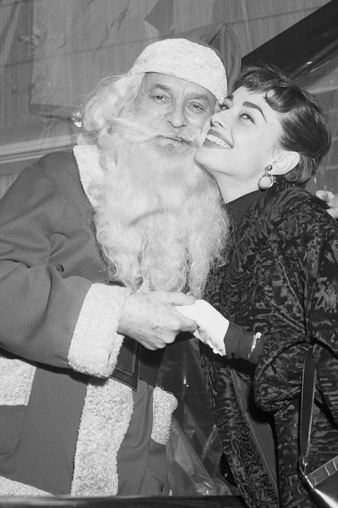 Facial hair, Beard, Santa claus, Black-and-white, Monochrome, Fictional character,