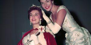 Miss America Being Crowned