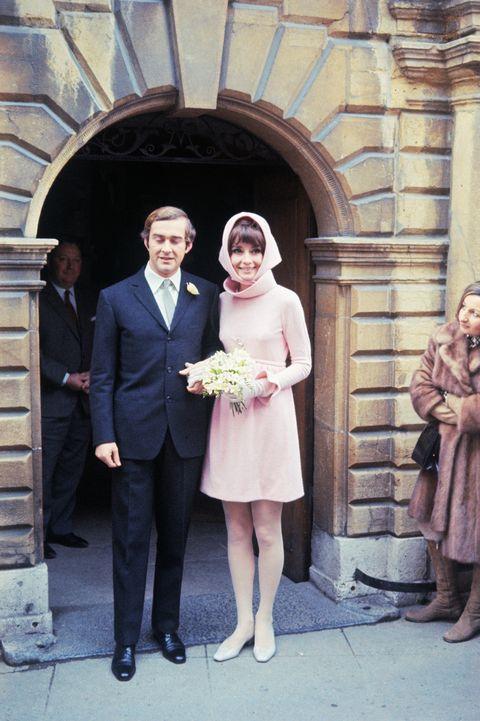 Photograph, Formal wear, Standing, Dress, Ceremony, Snapshot, Bride, Wedding, Suit, Event,