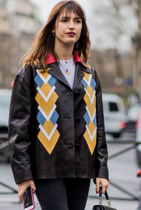 Street fashion, Clothing, Fashion, Beauty, Jacket, Yellow, Coat, Snapshot, Outerwear, Photography,