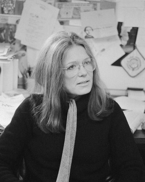 Women's Rights Activist Gloria Steinem