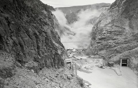 dynamite hoover dam