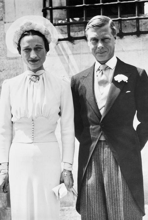ウォリス・シンプソンのウェディングドレス ロイヤルファッション 秘密 ダイアナ元妃 キャサリン妃 メーガン妃 エリザベス女王