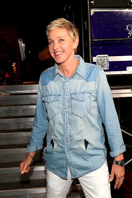 Ellen at Nickelodeon's 2016 Kids' Choice Awards