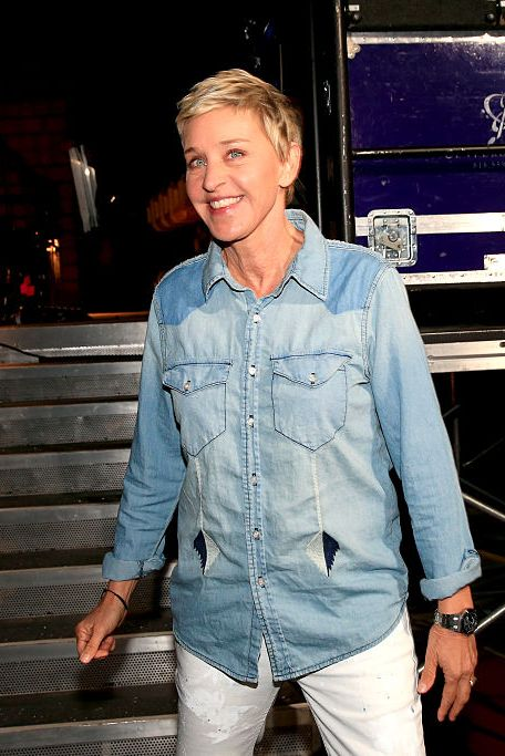 Ellen at Nickelodeon's 2016 Kids' Choice Awards