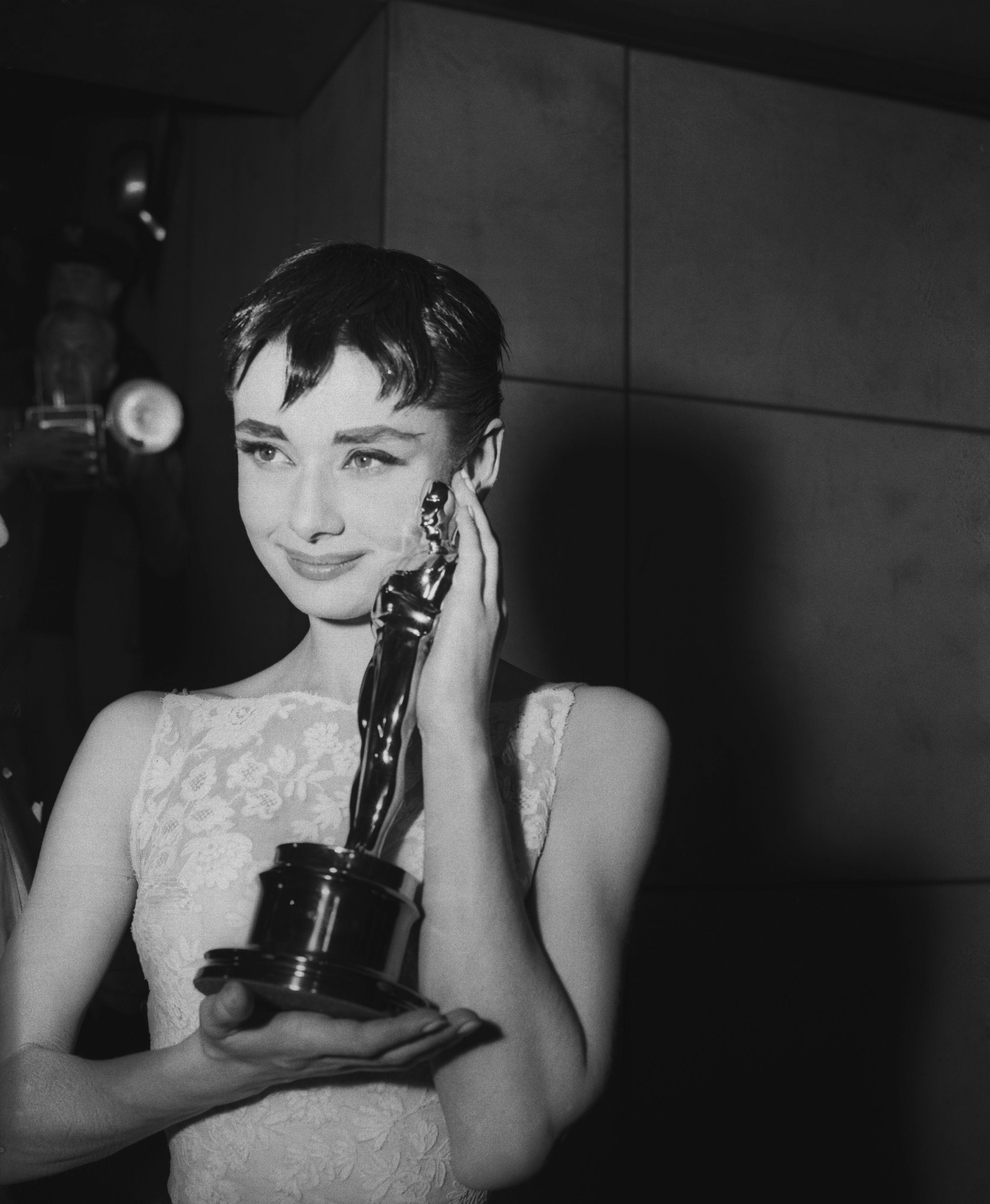 Old Hollywood Stars with Oscars