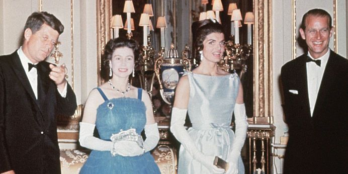 Image result for jackie kennedy and the queen