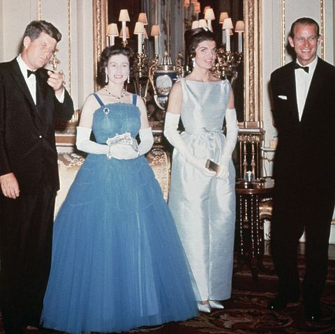 kennedys and queen elizabeth