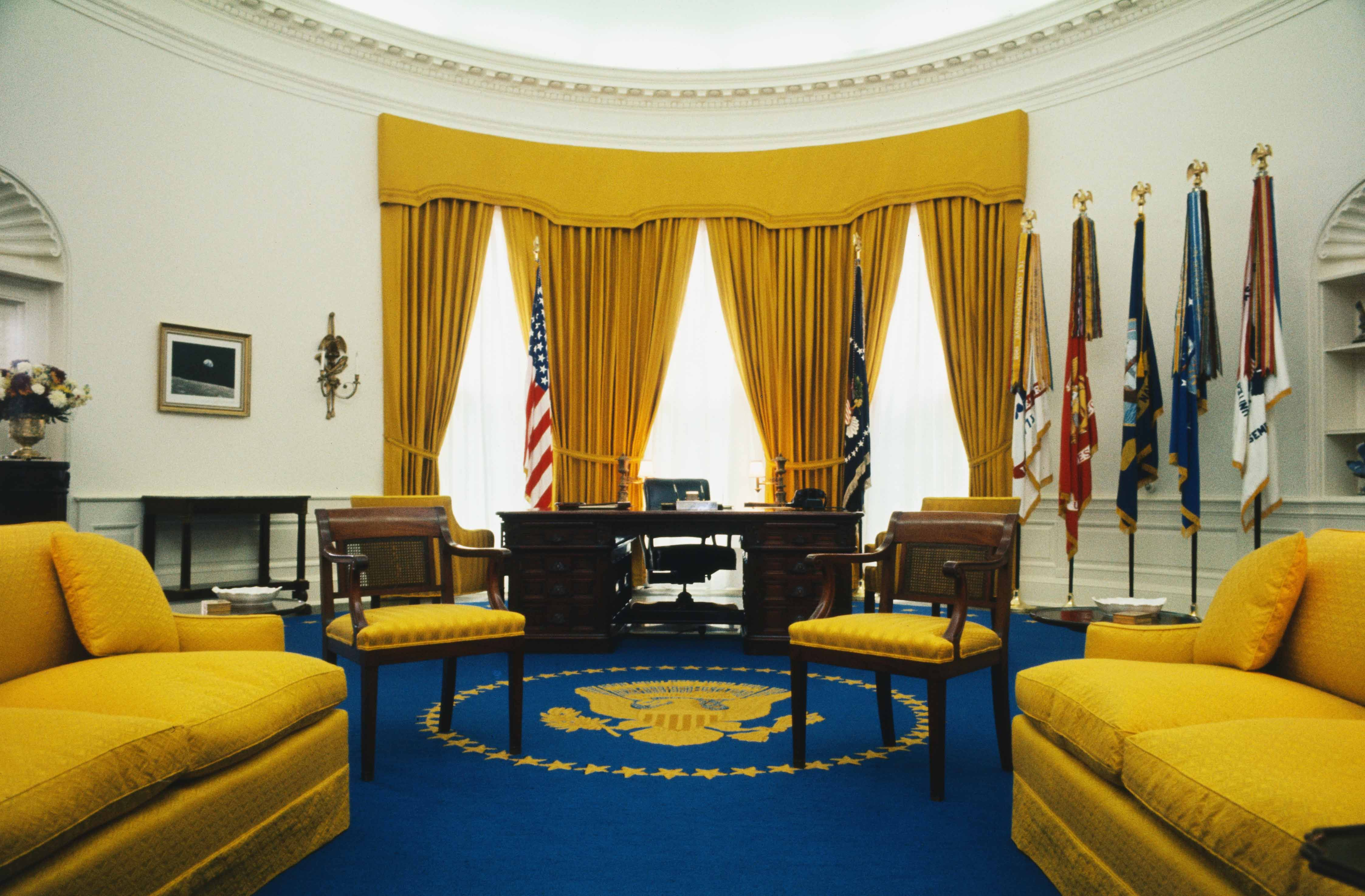oval office design. Interesting Design Oval Office Decor Changes In The Last 50 Years  Pictures Of From  Every Presidency To Design R