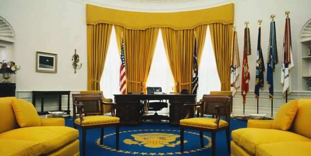Oval Office Decor Changes In The Last 50 Years