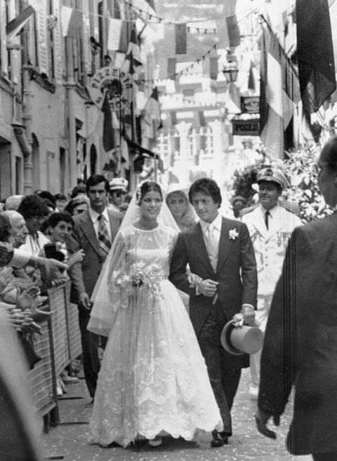 Vestido de novia Carlota Casiraghi