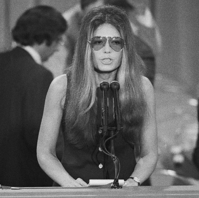 Gloria Steinem at Democratic Convention