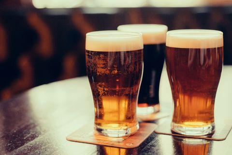 Alcoholic beverage, Beer glass, Beer, Drink, Pint glass, Distilled beverage, Lager, Wheat beer, Black velvet, Pint,