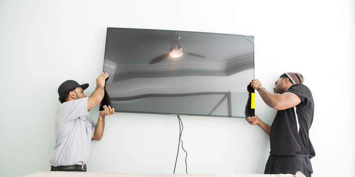 Hang A Tv How To Hang A Tv On The Wall