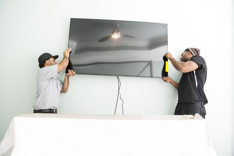 Hang a TV — How to Hang a TV on the Wall