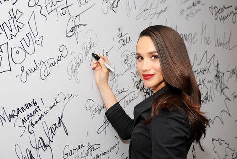 Meghan Markle Signature