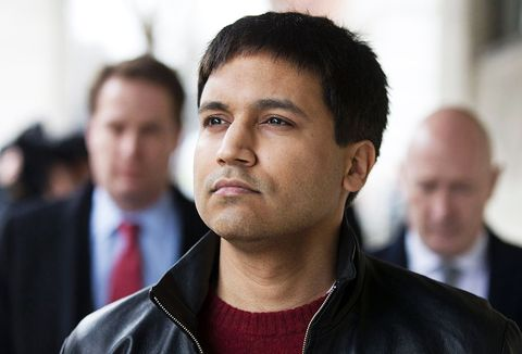 """british trader navinder singh sarao c leaves westminster magistrates court in central london on march 23, 2016a british judge on wednesday ruled that a british financial trader accused of manipulating markets and causing the  2010 """"flash crash"""" in us stocks can be extradited to face trial in the united states  afp  justin tallis        photo credit should read justin tallisafp via getty images"""